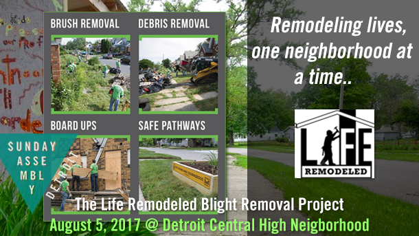 Life Remodeled Blight Removal - Help Often